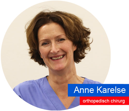 Orthopedisch chirurg Anne Karelse